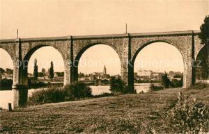 AK / Ansichtskarte Sable sur Sarthe Viaduc Sable sur Sarthe
