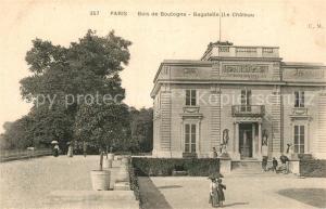 AK / Ansichtskarte Bois_de_Boulogne Parc de Bagatelle Chateau Bois_de_Boulogne