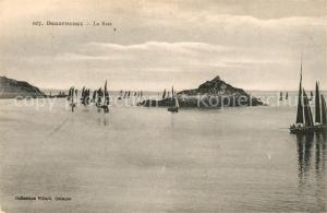 AK / Ansichtskarte Douarnenez La Baie Cote Voiliers Douarnenez