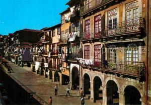 AK / Ansichtskarte Porto_Portugal Porto tipico Rua de Miragaia Porto Portugal