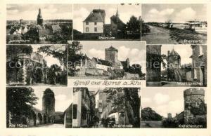 AK / Ansichtskarte Zons Judenturm Rheinturm Rheinufer Schlossruine Wachtturm Kroetschenturm Alte Muehle Zons