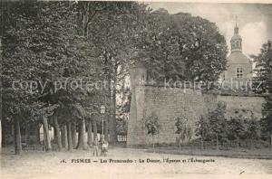 AK / Ansichtskarte Fismes Les Promenades  Fismes