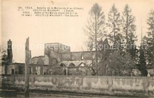 AK / Ansichtskarte Heiltz le Maurupt Eglise  Heiltz le Maurupt