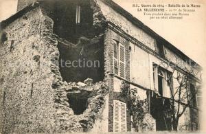 AK / Ansichtskarte Villeneuve les Bordes Bataille de la Marne Villeneuve les Bordes