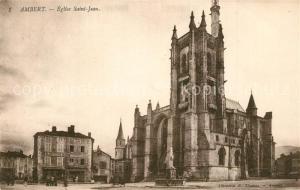 AK / Ansichtskarte Ambert Eglise Saint Jean Ambert