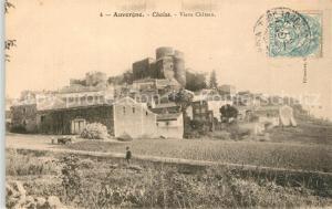 AK / Ansichtskarte Chalus_Puy de Dome Vieux Chateau Chalus Puy de Dome