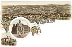 AK / Ansichtskarte Weinfelden Rathhaus Schloss Weinfelden
