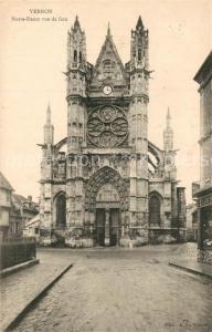 AK / Ansichtskarte Vernon_Eure Notre Dame  Vernon Eure