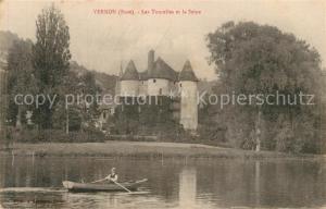 AK / Ansichtskarte Vernon_Eure Les Tourelles Seine  Vernon Eure