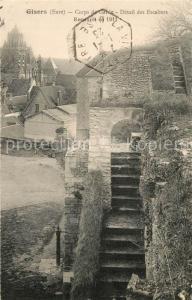 AK / Ansichtskarte Gisors_Eure Corps de Garde Detail des Escaliers  Gisors Eure