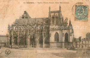 AK / Ansichtskarte Louviers_Eure Eglise Notre Dame  Louviers Eure