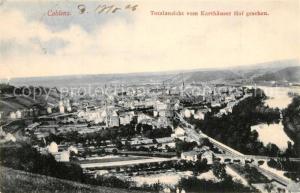 AK / Ansichtskarte Koblenz_Rhein Totalansicht vom Karthaeuser Hof gesehen Koblenz_Rhein