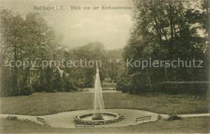 AK / Ansichtskarte Bad_Soden_Taunus Blick von Kurhausterrasse Bad_Soden_Taunus