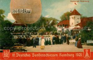 AK / Ansichtskarte Hamburg Restaurant Rotenburg Deutsches Bundesschiessen 1909 Hamburg