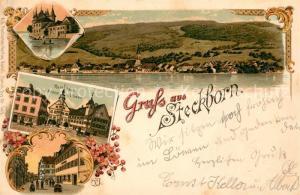 AK / Ansichtskarte Steckborn_Untersee Rathhaus mit Krone und Loewen Steckborn Untersee