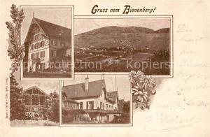 AK / Ansichtskarte Sissach Gasthaeuser Bienenberg Sissach
