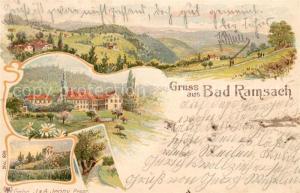 AK / Ansichtskarte Laeufelfingen Hotel Bad Ramsach Laeufelfingen