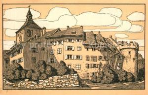 AK / Ansichtskarte Liestal Oberes Tor und Thomasturm Liestal