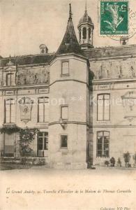AK / Ansichtskarte Le_Grand_Andely Tourelle d Escalier de la Maison de Thomas Corneille