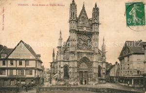 AK / Ansichtskarte Vernon_Eure Notre Dame Vieille Maison Vernon Eure