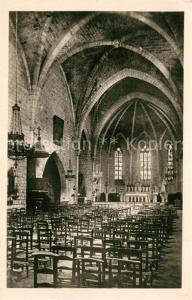 AK / Ansichtskarte Monpazier Eglise  Monpazier