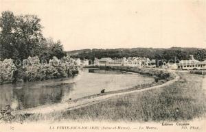 AK / Ansichtskarte La_Ferte sous Jouarre La Marne La_Ferte sous Jouarre