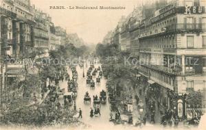 AK / Ansichtskarte Paris Boulevard Montmartre Paris