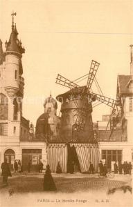AK / Ansichtskarte Paris Moulin Rouge Paris