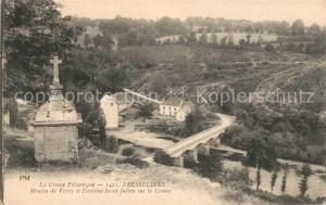 AK / Ansichtskarte Fresselines Moulin de Vervy et Fontaine Saint Julien sur la Creus Fresselines