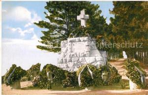 AK / Ansichtskarte Avala Das Grab des unbekannten Helden Avala