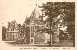 AK / Ansichtskarte Bonnetable Chateau Bonnetable