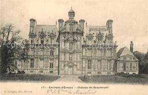 AK / Ansichtskarte Evreux Chateau de Beaumesnil Evreux