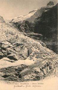 AK / Ansichtskarte Grindelwald Oberer Gletscher Grindelwald