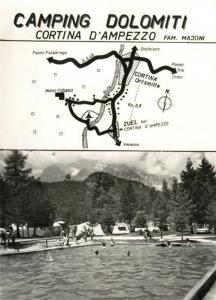 AK / Ansichtskarte Cortina_d_Ampezzo Camping Dolomiti Cortina_d_Ampezzo