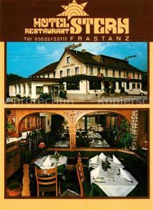 AK / Ansichtskarte Frastanz Hotel Restaurant Stern Frastanz