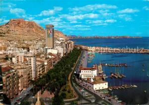 AK / Ansichtskarte Alicante Puerto Alicante