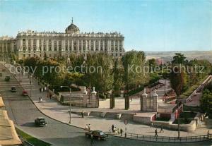 AK / Ansichtskarte Madrid_Spain Jardines de Sabatini Madrid Spain