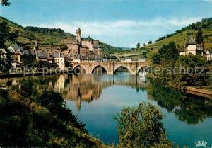 AK / Ansichtskarte Estaing_Aveyron Chateau Estaing_Aveyron