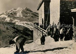 AK / Ansichtskarte Val_d_Isere Skifahrer Val_d_Isere