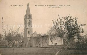 AK / Ansichtskarte Port en Bessin Ruines de l'Eglise de Villiers sur Port Port en Bessin