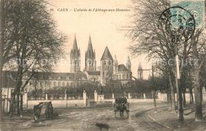 AK / Ansichtskarte Caen Abside de l'Abbaye aux Hommes Caen