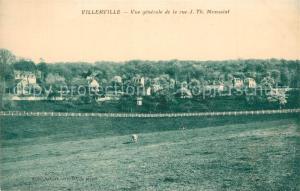 AK / Ansichtskarte Villerville_sur_Mer Vue generale de larue J Th Monsaint Villerville_sur_Mer