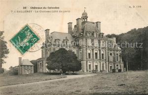 AK / Ansichtskarte Balleroy Le Chateau Cote du parc Balleroy