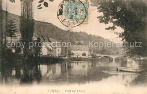 AK / Ansichtskarte Cailly sur Eure Pont sur l Eure Cailly sur Eure