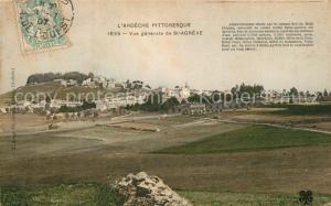 AK / Ansichtskarte Saint Agreve Vue generale Saint Agreve