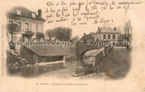 AK / Ansichtskarte Voulx Le Lavoir et le Pont sur l Orvanne Voulx