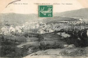 AK / Ansichtskarte Vireux Molhain Vallee de la Meuse Vue generale Vireux Molhain