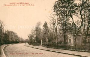 AK / Ansichtskarte Romilly sur Seine Avenue de la Gare et le Foyer civil UFA Romilly sur Seine