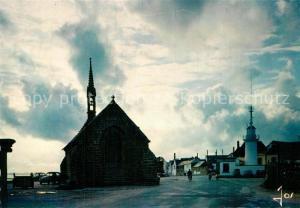 AK / Ansichtskarte Chateaulin Kirchenpartie Leuchtturm Chateaulin