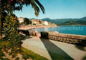 AK / Ansichtskarte Ajaccio Citadelle et sa plage Ajaccio
